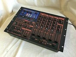 Roland DJ-2000 Professional DJ Mixer 4 channel mixing with 3