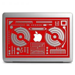 DJ Console Rmx DJ Mixers Vinyl Decal for Apple Macbook Air M