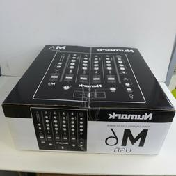 Numark DJ Mixer M6 USB 4-Channel Professional USB-Interface