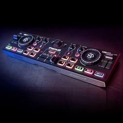 Dj Turntables Controller Mixer Compact Super-Mobile Usb With