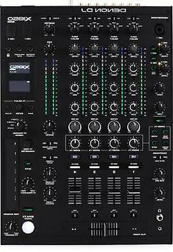 Denon DJ X1850 Prime 4-channel DJ Mixer with Effects and Ser