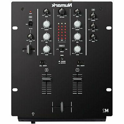 m2 black 2 channel 10 professional dj