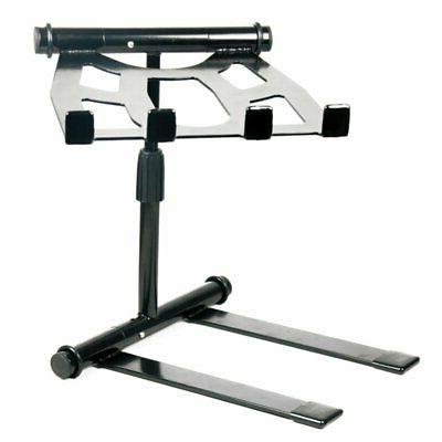 portable and adjustable tabletop dj gear stand