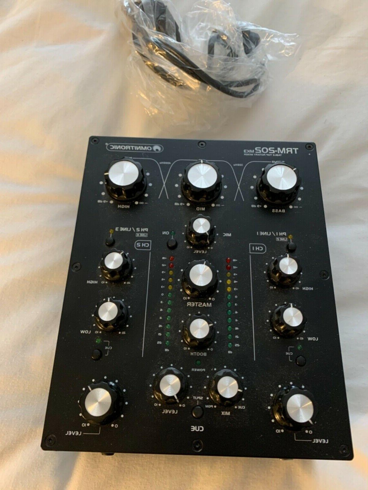 trm 202 mk3 2 channel rotary mixer