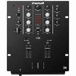"Numark M2 Black 2-Channel 10"" Professional DJ Mixer - Black"