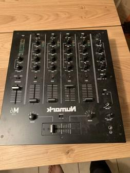 NUMARK M6 USB 4-CHANNEL PRO DJ MIXER WITH USB INTERFACE