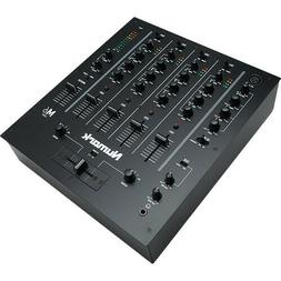 NUMARK M6 USB 4-Channel USB DJ Mixer for Turntables and CD P