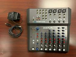 Alesis Multimix 8 USB FX - 8 Channel Mixer/ USB Recording In