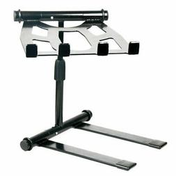 Portable & Adjustable Tabletop Dj Gear Stand For Laptop Mixe