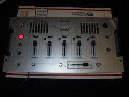 Radio Shack 3 Channel Stereo Sound Mixer 32-2057 Equalizer D