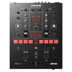 Numark Scratch 24 Bit 2 Channel Professional DJ Mixer w Sera