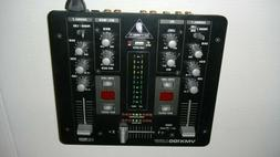 Behringer VMX100USB 2-Channel DJ Mixer BPM Counter and VCA C
